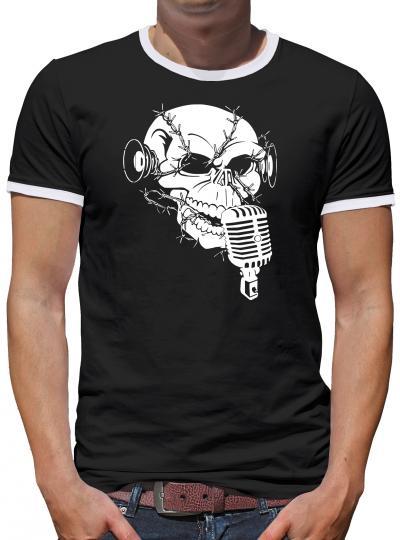 Monkey Noise Kontrast T-Shirt Herren