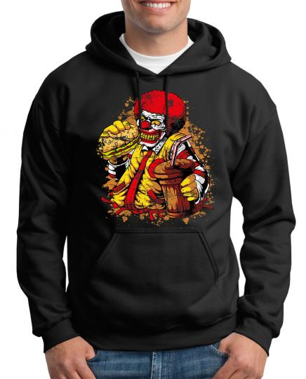 Ronald Zombie Mc Clown Kapuzenpullover