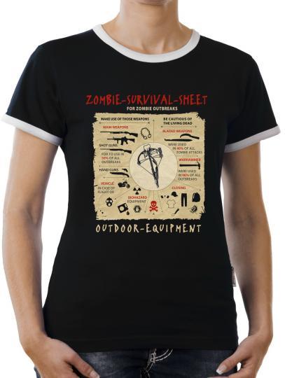 TLM Survive Sheet Kontrast T-Shirt Damen
