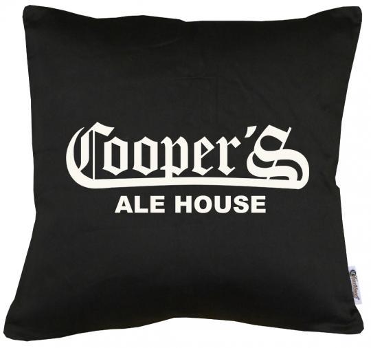 Coopers Ale House Kissen mit Füllung 40x40cm