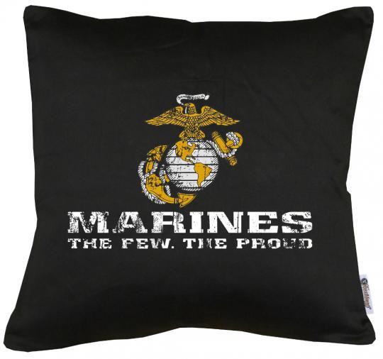US Marine Corps USMC Kissen mit Füllung 40x40cm