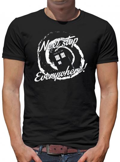 Next Stop Everywhere T-Shirt