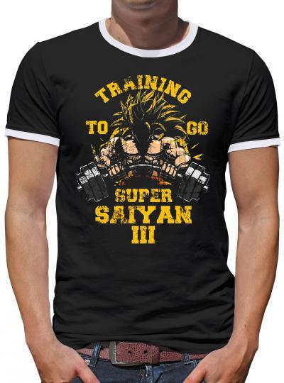 Training to go Kontrast T-Shirt Herren