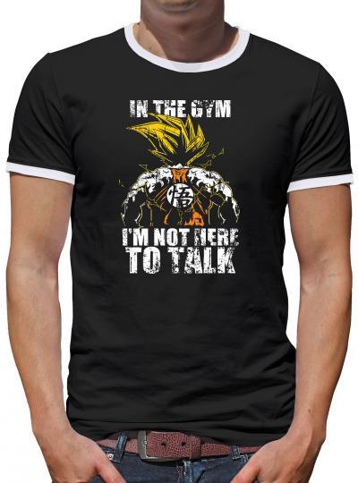 Not to talk Kontrast T-Shirt Herren