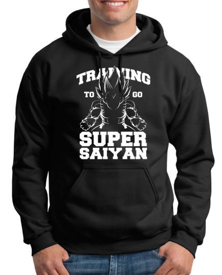 Training Super Saiyan Kapuzenpullover