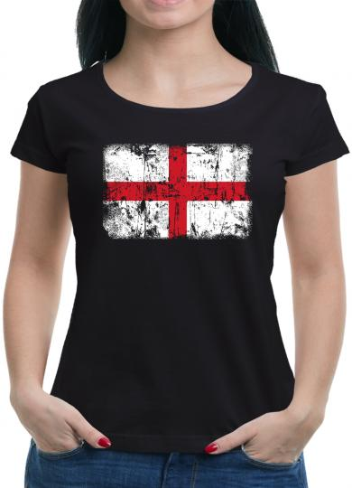England Vintage Flagge Fahne T-Shirt