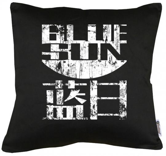 Firefly Blue Sun Kissen mit Füllung 40x40cm