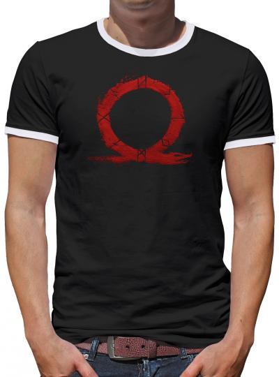 GoW Logo Kontrast T-Shirt Herren