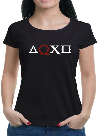 Mythological Button T-Shirt