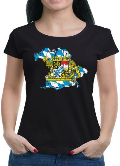 Bayern Freistaat Bundesland T-Shirt XXL