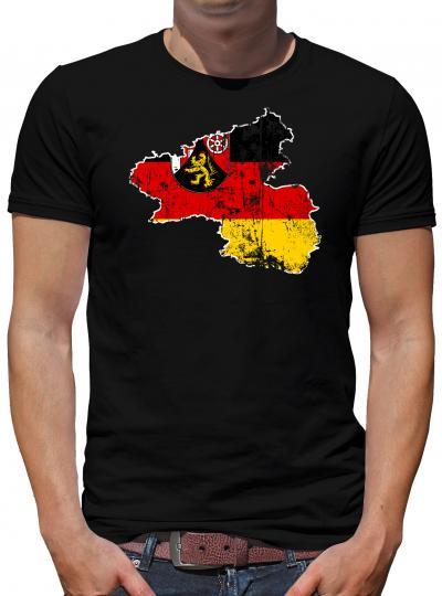 Rheinland Pfalz Bundesland T-Shirt