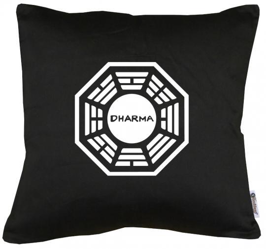 Dharma Lost Main Logo Kissen mit Füllung 40x40cm