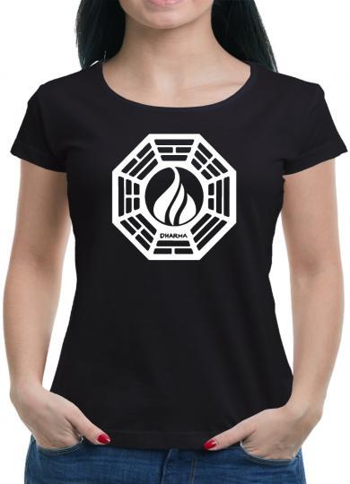 Dharma Lost The Flame Logo T-Shirt