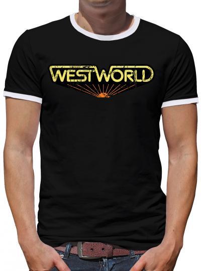 Westworld Classic Kontrast T-Shirt Herren
