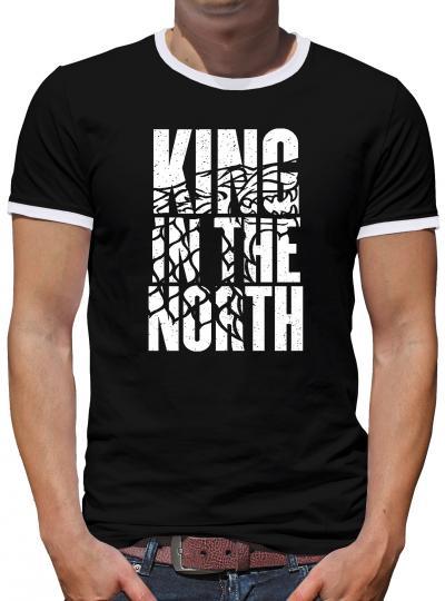 King in the North Kontrast T-Shirt Herren