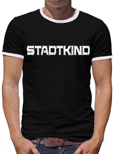 Stadtkind Kontrast T-Shirt Herren