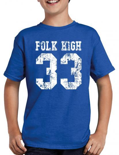 Polk High 33 Bundy T-Shirt