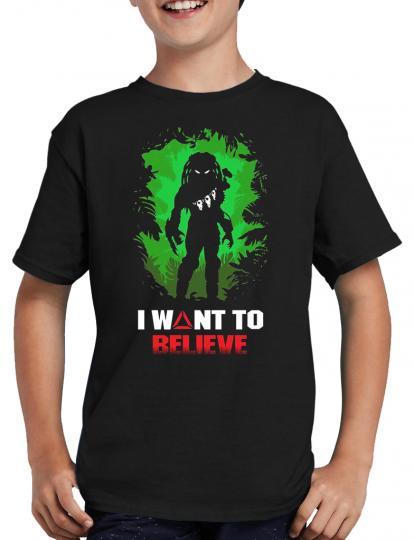 Predator I want to believe T-Shirt