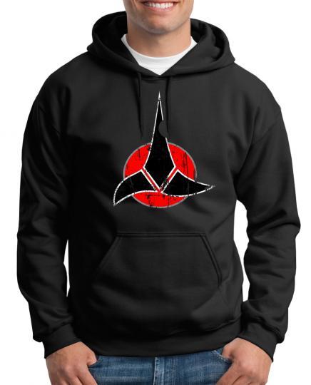 Klingonen Symbol Kapuzenpullover