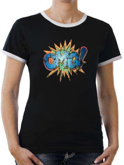 TLM OMG Kontrast T-Shirt Damen