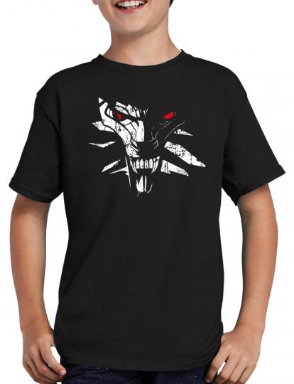 Wolf Medallion Gamer Plus T-Shirt