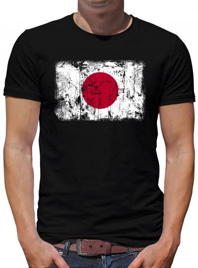 Japan Vintage Flagge Fahne T-Shirt