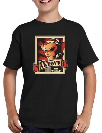 The Pinky and the Brain Takeover T-Shirt