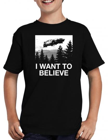 I want to believe Delorean T-Shirt