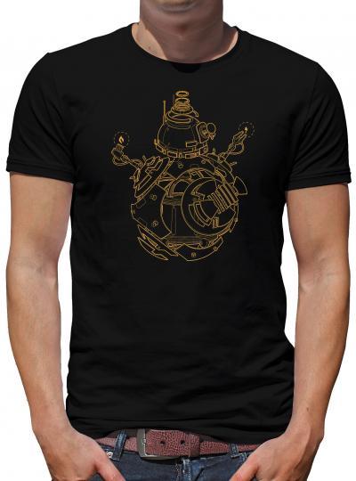 BB 8 Blueprint T-Shirt Wars Droid Star