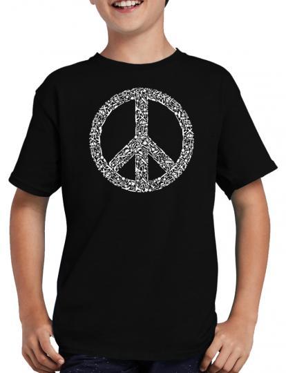 Peace Symbol T-Shirt Love no War