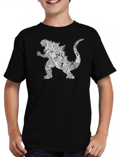 Newsletter Gozilla T-Shirt Tokyo