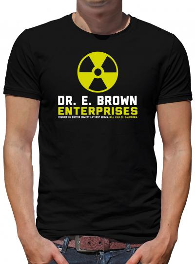 Doc Brown Enterprises T-Shirt Zukunft Delorean Zurück