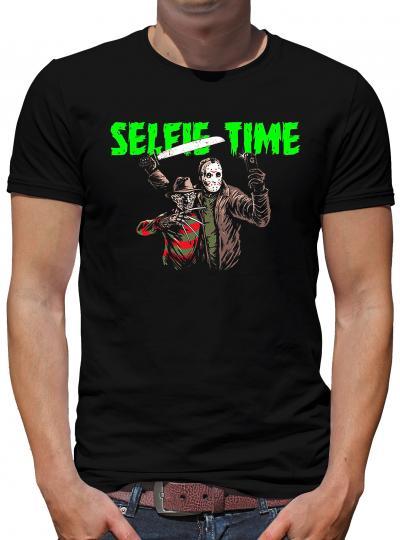 Selfie Time T-Shirt Freddy Jason Horror
