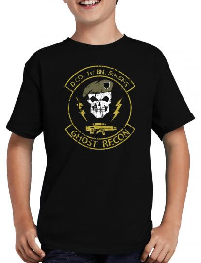 5th Recon T-Shirt Gamer Ghost Egoshooter