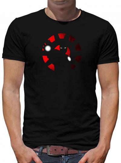 Iron Shadow T-Shirt Stark Man Heroes