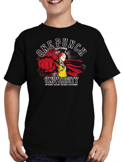 One Punch University T-Shirt Saitama Manga Anime