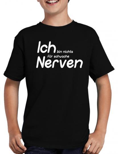 Nichts fr schwache Nerven T-Shirt Fun Lustig