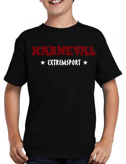 Karneval Extremsport T-Shirt Fasching Lustig Party