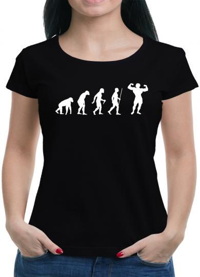 Evolution Bodybuilding T-Shirt Fit Sprüche Training
