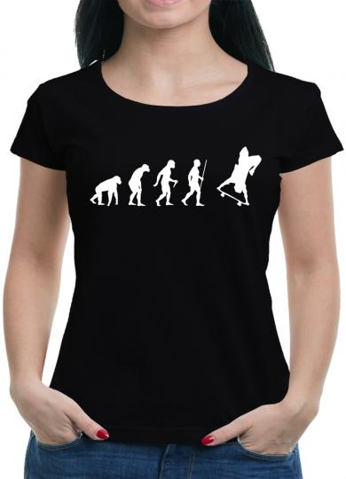Evolution Skater T-Shirt skating Sprüche Spass