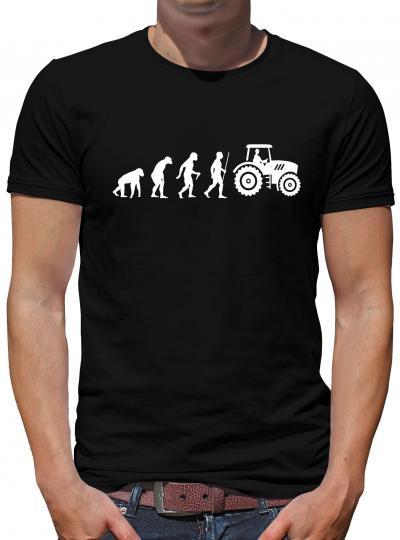 Evolution Traktor T-Shirt Spass Lustig Fun Geek