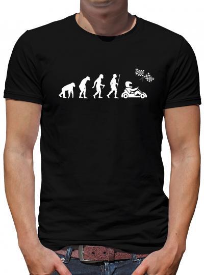 Evolution Go Kart T-Shirt Geek Spass Fun