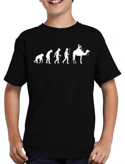 Evolution Kamel T-Shirt Oase Scheich Fun Lustig