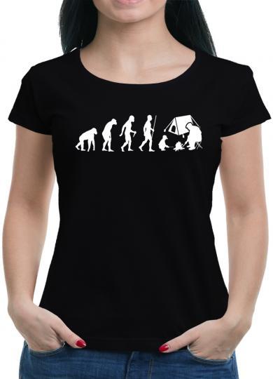Evolution Zelten T-Shirt Camping Outdoor Zelt