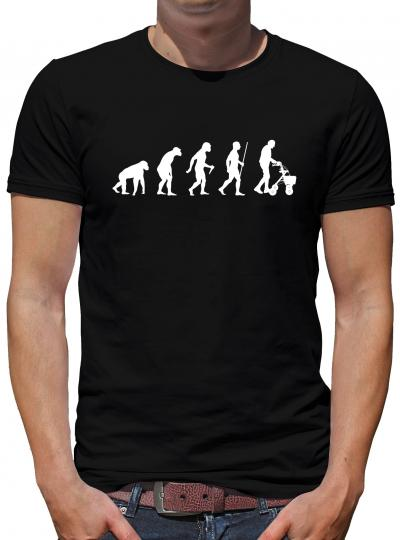 Evolution Rollator T-Shirt Oma Spass Fun Nerd