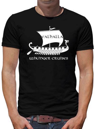 Wikinger Cruises T-Shirt Herren Viking Odin Thor