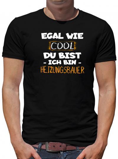 TShirt-People Cool ich bin  Heizungsbauer T-Shirt Herren