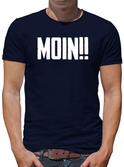 TShirt-People Moin!! T-Shirt Herren