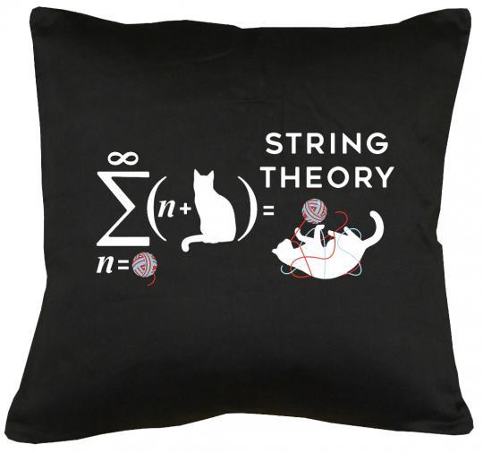 String Theory Kissen mit Füllung 40x40cm