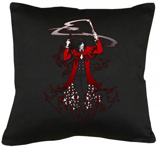 Hellsing Vampir Kissen mit Füllung 40x40cm